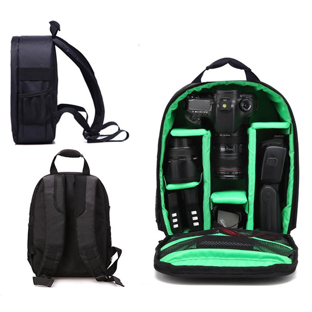 Camera Bag digital Tasche wasserdichte Shockproof Breathable Kamerarucksack für Nikon Canon Sony Kleine Video-Foto-Tasche Rucksack