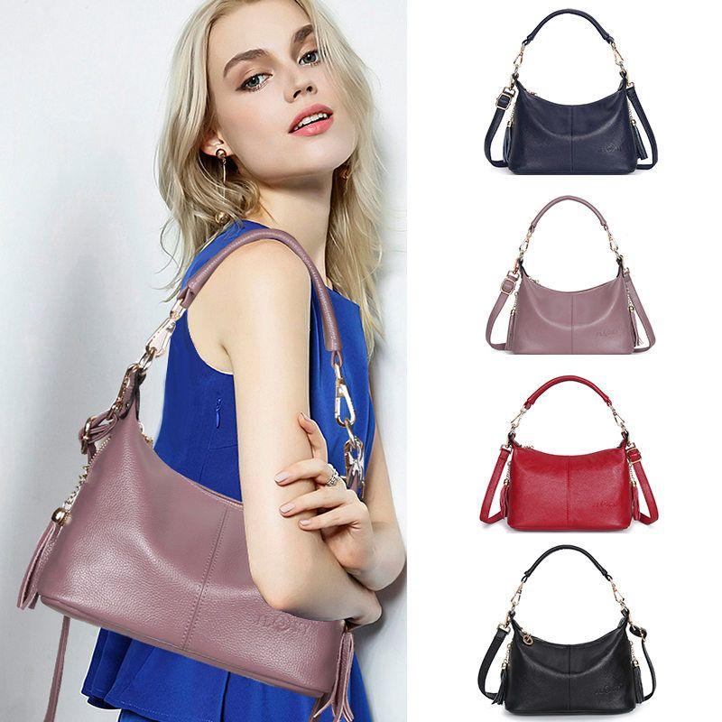 Новые женщины кожаные сумки класса люкс из натуральной кожи Сумки Сумки Женщины Известные бренды плеча Crossbody Сумки женские Сумка Tote