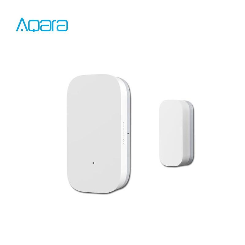 Çalışma ile APP Mi Ev İçin Xiaomi mijia akıllı ev sensörü Aqara Kapı Pencere Sensörü Zigbee Kablosuz Bağlantı Akıllı Mini kapı