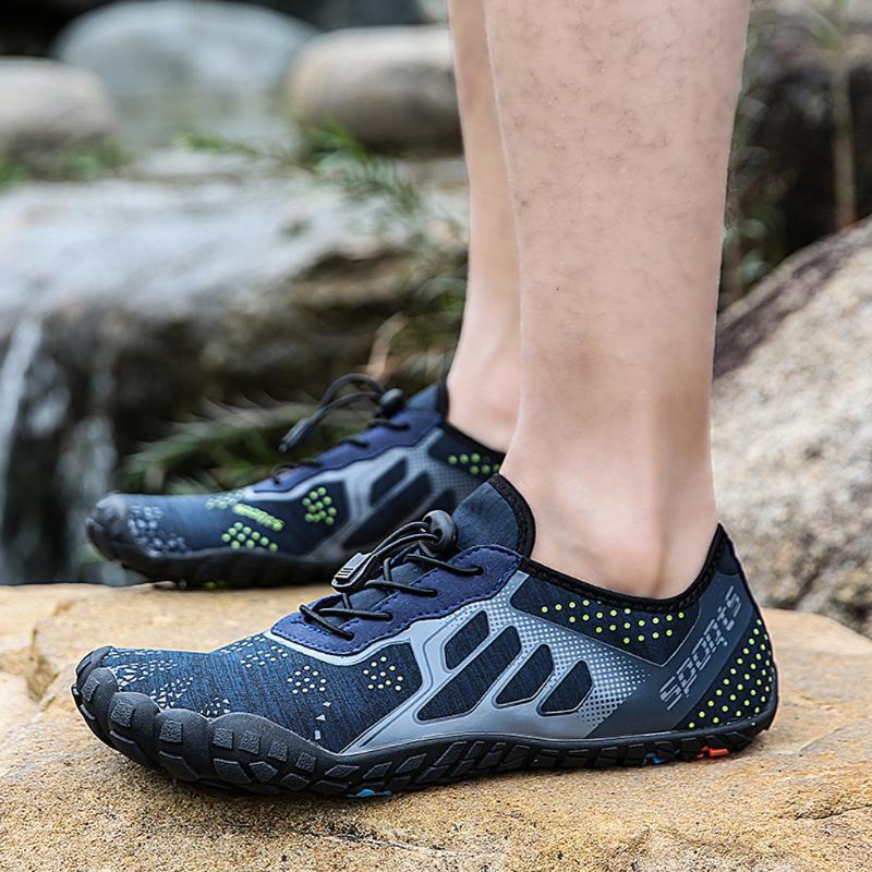 2020 Beliebte Paar Sportschuhe Slip-Netz auf Laufschuhe atmungsaktiv Barefoot Quick Dry Aqua Snearkers # 3