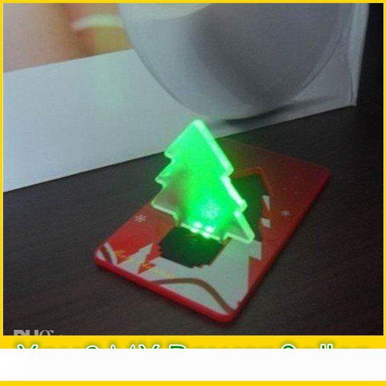 Новый промоушен Рождественская елка светодиодные карты свет лампы Creit карты свет лампы + нажатие высокое качество + свободный shipDHL корабль