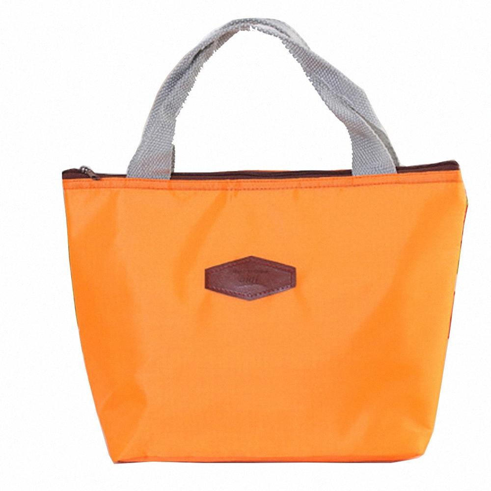 Wholesale- Excellent Quality New Thermo Thermal Insulated Neoprene Lunch Bag for Women Kids Lunchbags Tote Cooler Lunch Box Insulation PZ9S#
