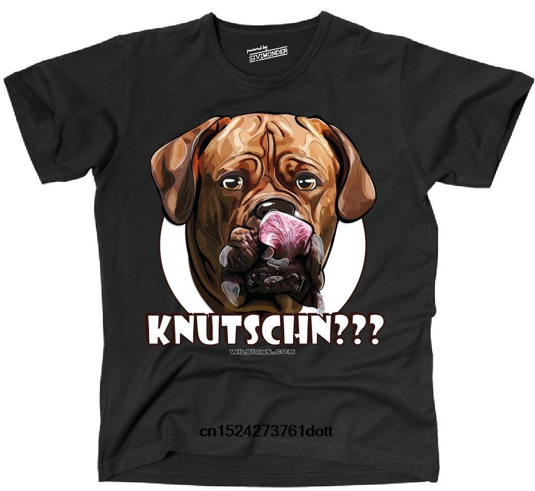 Hmens Unde Knutschn Bordeauxdogge Dogge tarafından Wilsigns Siviwonder Kısa Kollu Tee Gömlek T Shirt Grafik Giyim Moda Tops
