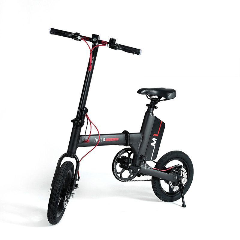 E-Scooter 36V 2 Roues Vélo électrique 250W Ultraléger Mini Scooter électrique pliable portable pour adultes avec APP