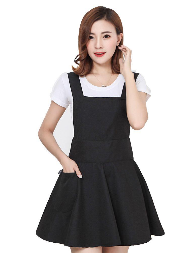 New Korean fashion kitchen apron cute female nail shop makeup artist waist custom logo embroidery printing waterproof