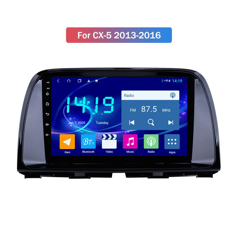 Car Accessories 4G RAM 64G ROM 10 Inch Android 10 for MAZDA CX-5 2013-2016 Car Dvd Player Multimedia Gps Navigation