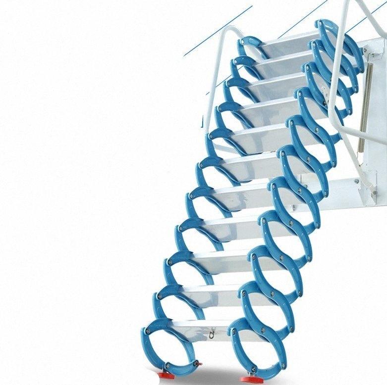 Бытовая набор инструментов на открытый воздух НАСТЕННОЙ лестницы ручной складной лестница переносному ЛЕСТНИЧНЫЙ 2.5-3M YtOo #