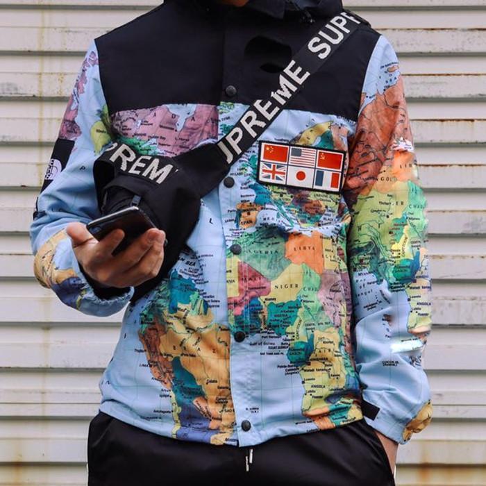 2020 Overseas Art und Weise sports beiläufige Jacke Windschutzscheibe Jacke Männer und Frauen Liebhaber Fellfarbe Männer Qualität Sportwear Tops Bekleidung