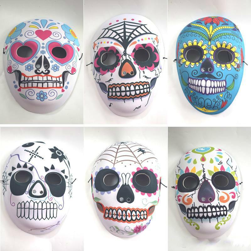 Halloween Full Face Mask Drucken 2018 neue EVA-Composite-Maske Partei-Kleid Props Vollgesichts Maskerade für Männer und Frauen Modelle Maske Großhandel