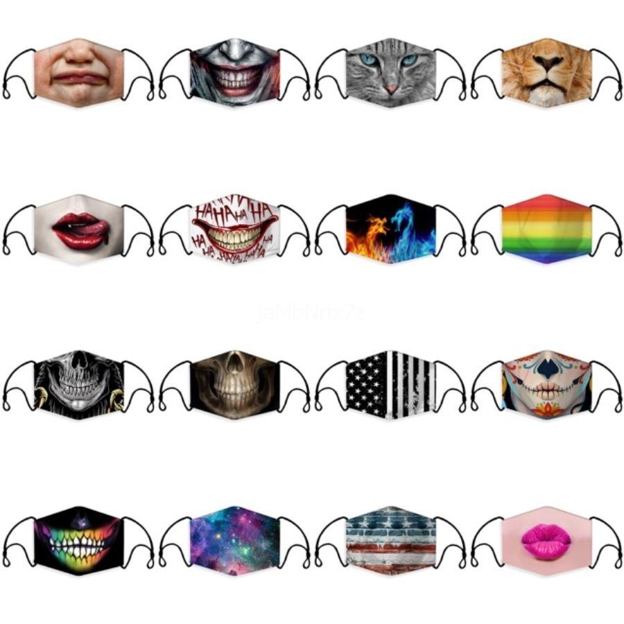 Negro de algodón Máscaras máscara protectora del polvo anti contaminación unisex boca cara lavable reutilizable para el trabajo doméstico humo Ciclismo camping de esquí # 102