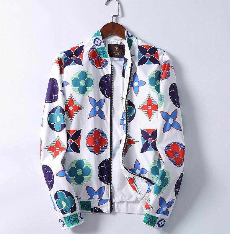 горячие мужские куртки LouisVuitton джинсовой куртки Мужчины хип-хоп куртки Мужчины Верхняя одежда Пальто Мужская одежда