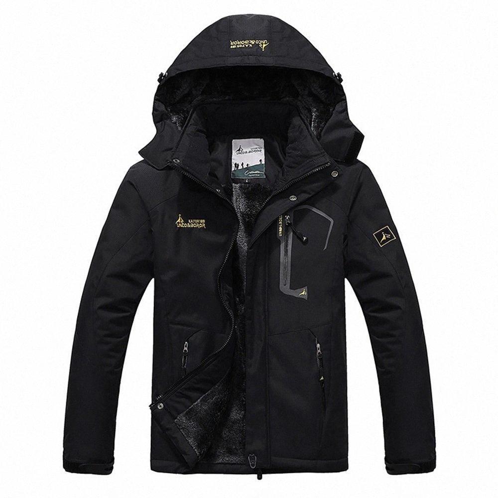 SPORTSHUB Erkekler Kış İç Polar Su geçirmez Ceket Açık Sıcak Coat Yürüyüş Kamp Trekking Kayak Erkek ceketler SAA0082 mSFb #