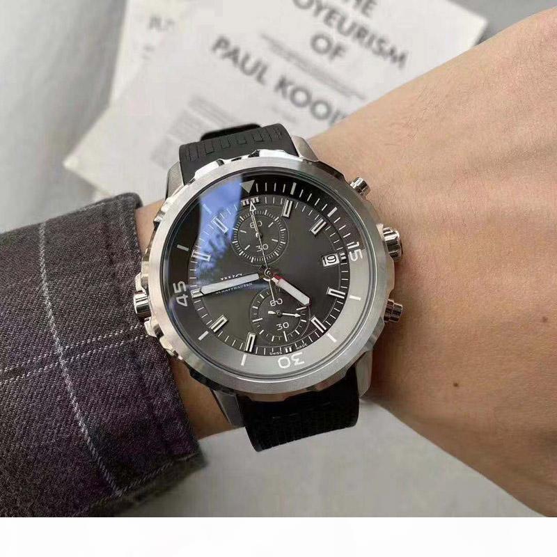 2019 del relogio masculino mira a los hombres de moda de lujo reloj de cristal de cuarzo de pulsera de acero inoxidable comerciales Seguir superior de la marca