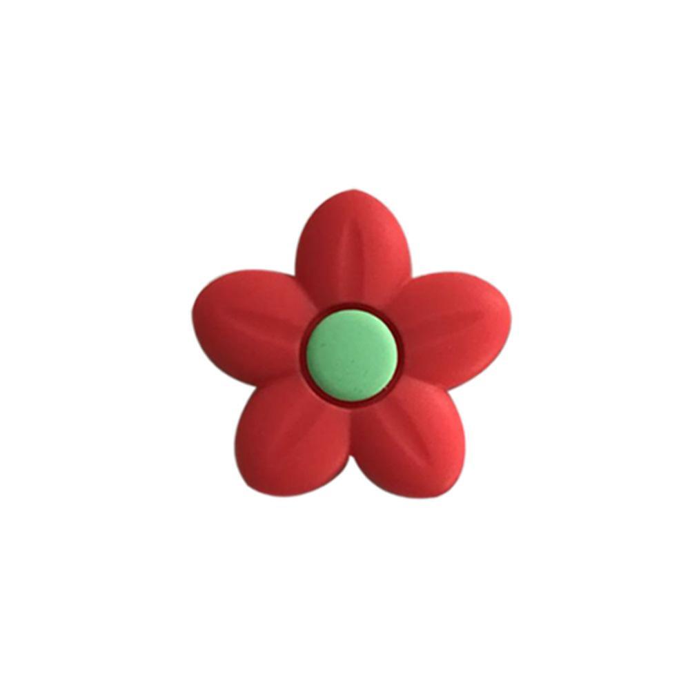 2020 Beads-friendly Eco Flower silicone commercio all'ingrosso del pendente di modo di DIY allentati perline fiore in silicone