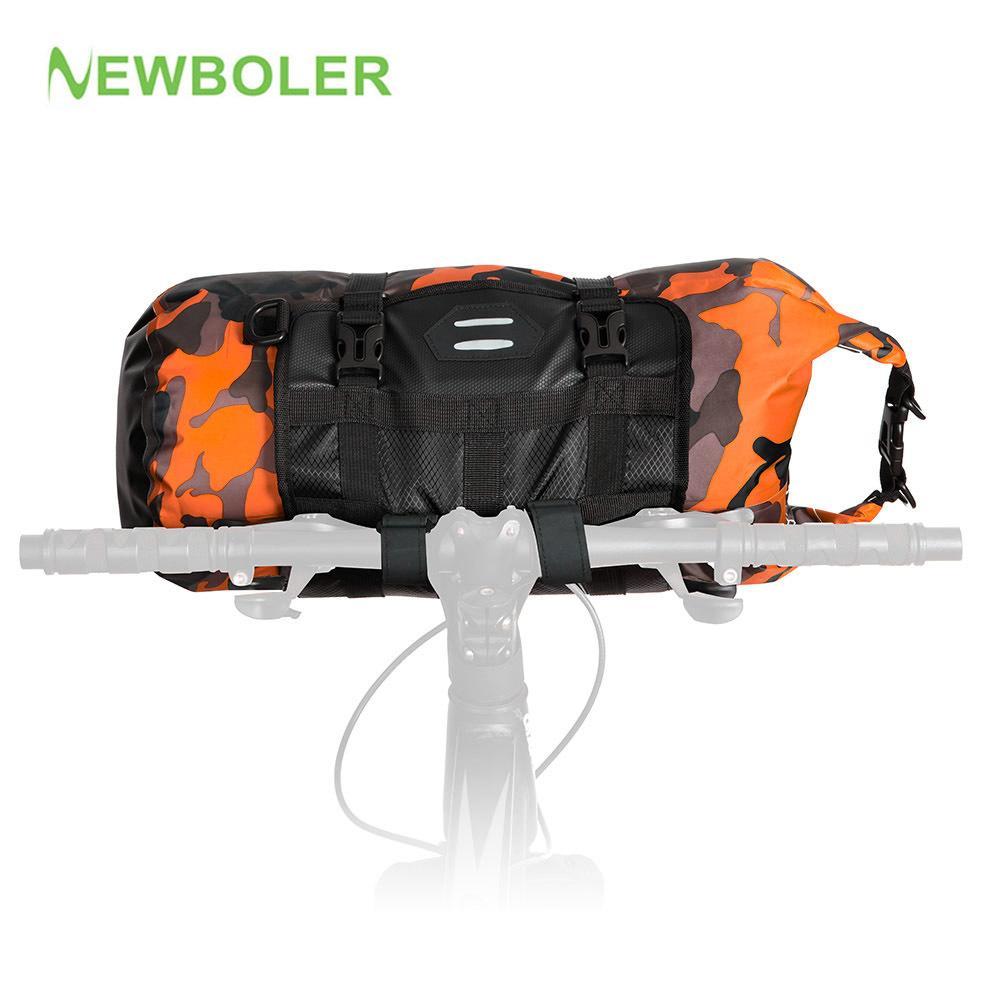 3L/7L/10L/15L/20L Waterproof Adjustable Capacity Bike Bicycle Cycling Handlebar Bag Pannier Detachable Dry Pack ATTACK Series MX200717