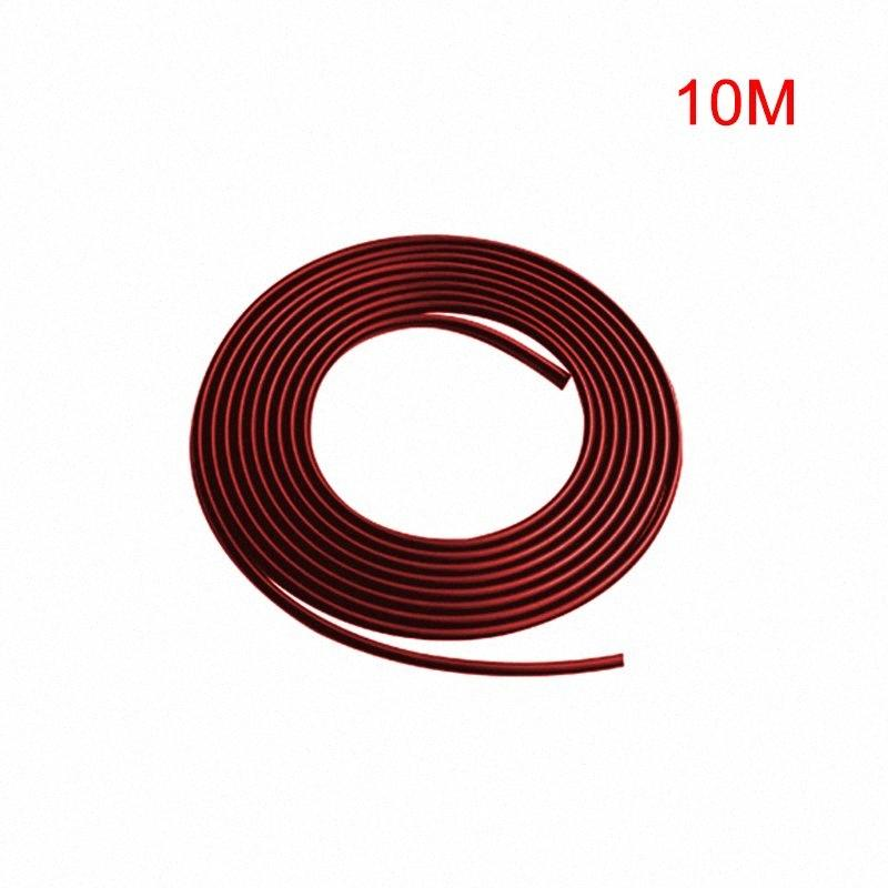 10m Car Styling Rubber Car Door Edge Guard Bumper Strip Anti UV Waterproof Edging Protector Strip For Limousine SUV 8vcn#