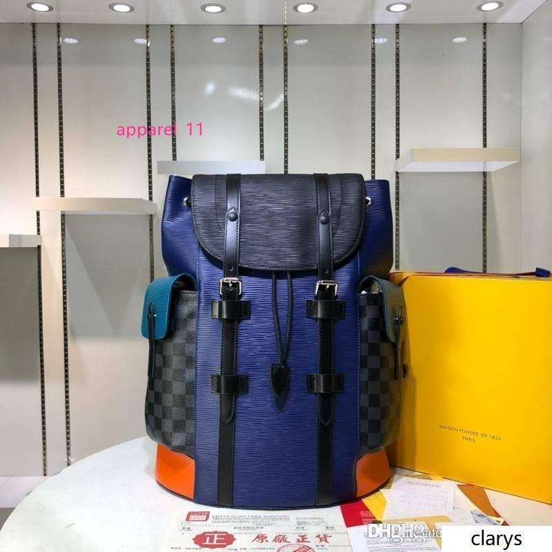 LoVuitto MONOGRAMS CHRISTOPHER BACKPACK OUTDOOR PACIFIC BLUE BAG KIM JONES NEW N41709 Size:41.0 x 48.0 x 13.0CM