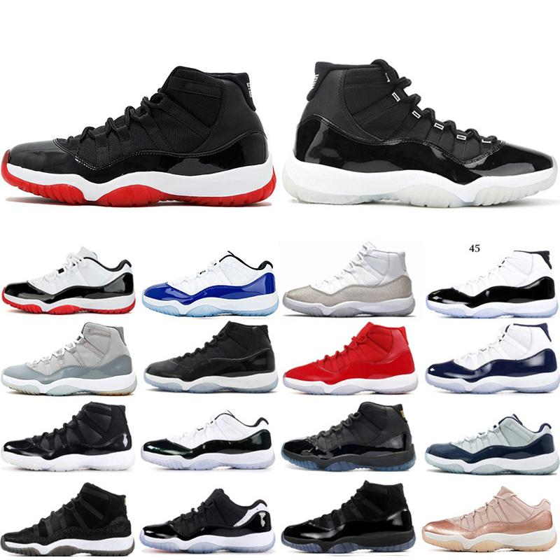 nike air Jordan Retro 11 basketball Shoes fashion designer Brand Leather gazelle og Black white Pink Men Runner Womens Sneakers sports Shoes