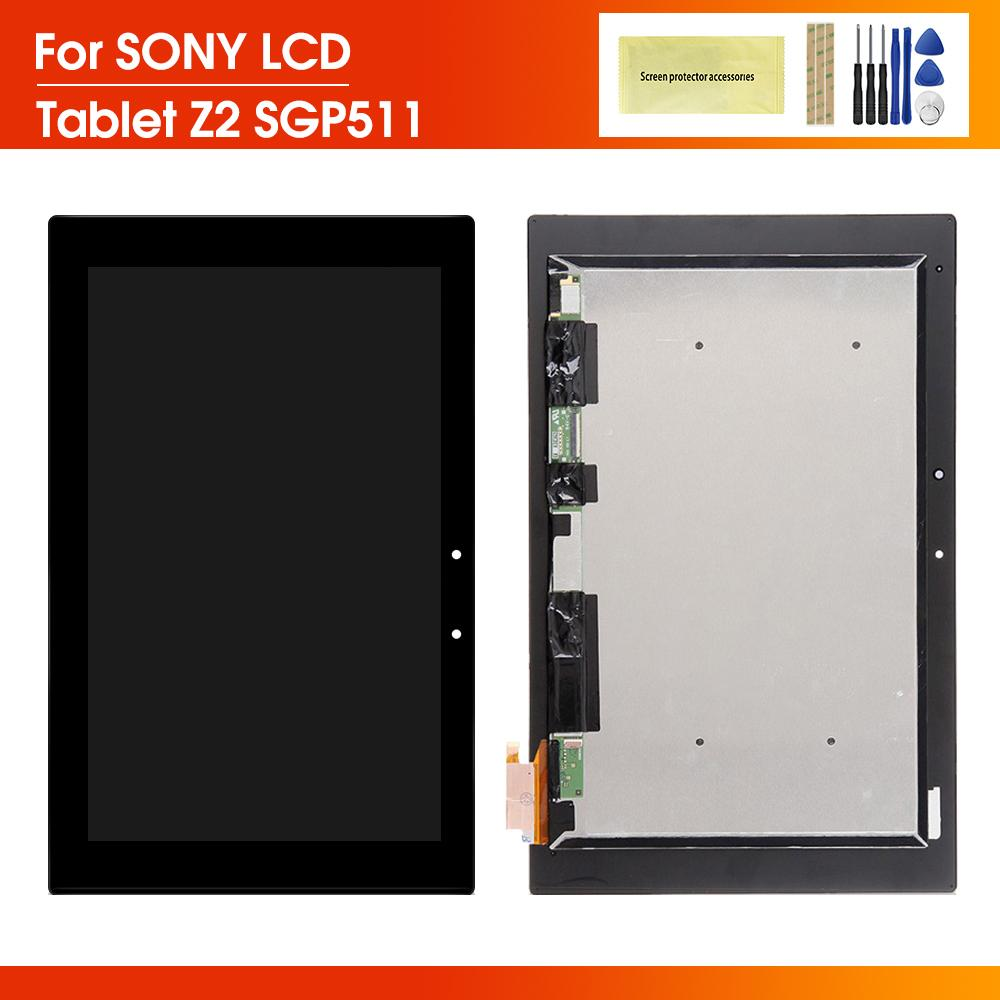 10.1'' lcd For Sony Xperia Z2 Tablet LCD SGP511 SGP512 SGP521 SGP541 display Touch Screen Digitizer Display