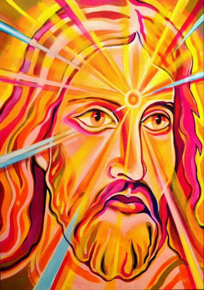 Gesù Cristo Mary Catholic 15 Santo arte della decorazione della parete dipinta a mano HD Stampa Olio su tela di arte della parete della tela di canapa Immagini 200.803