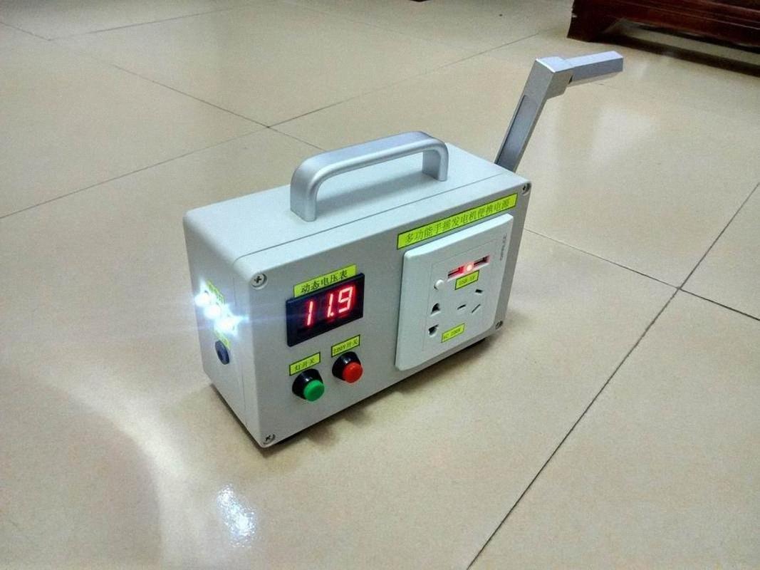 Рукоятка генератор на открытом воздухе мобильного питания 22 большой емкости для хранения сокровищ 150W бытовой техники кемпинга питания F68O #