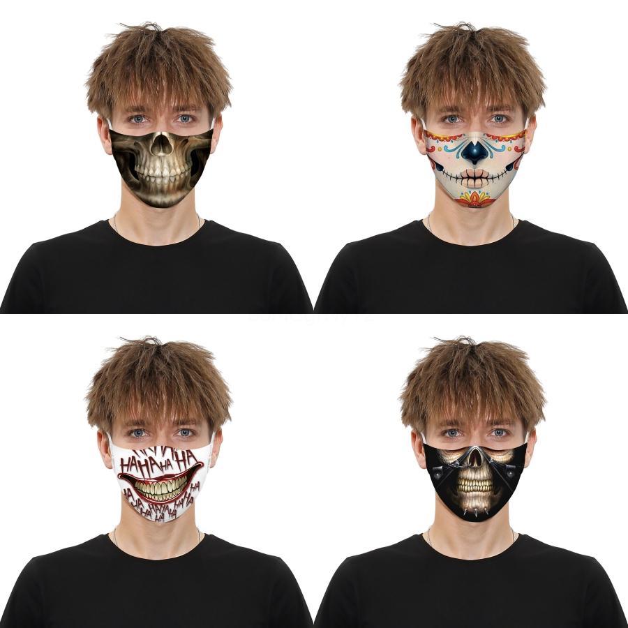 Üst kalite! Starry Dijital Baskı Pamuk Yıkanabilir Reathable Toz koruyucu Maskeler Karşıtı Kirli Hava PM2.5 Koruyucu Maskeler Bir Boyut # 531