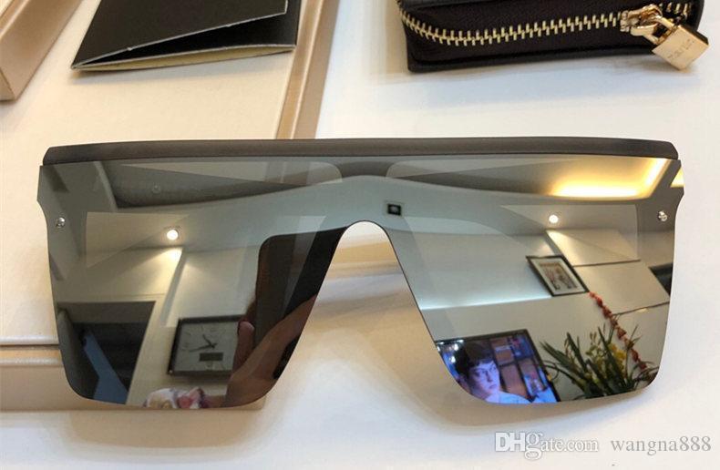 1032 ânes Nouveau mode populaire SunglDesigner Planche suqare Cadre Lunettes Homme simple et style décontracté lunettes de qualité supérieure avec étui