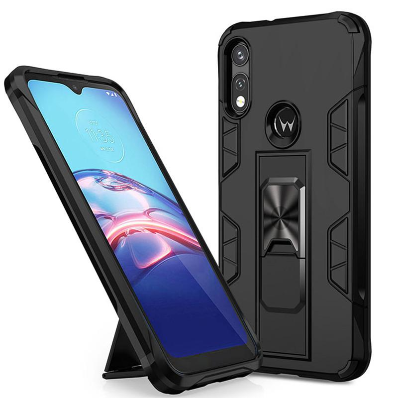 For Motorola MOTO G Fast E 2020 G Stylus G7 POWER Phone case magnet car phone accessories shell invisible stand cover B