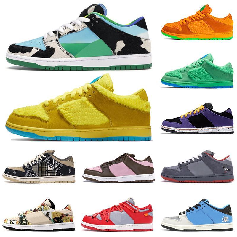scarpe nike sb dunk low white off Sneakers da skateboard autentiche firmate Safari Scarpe da ginnastica da uomo robuste Dunky da uomo