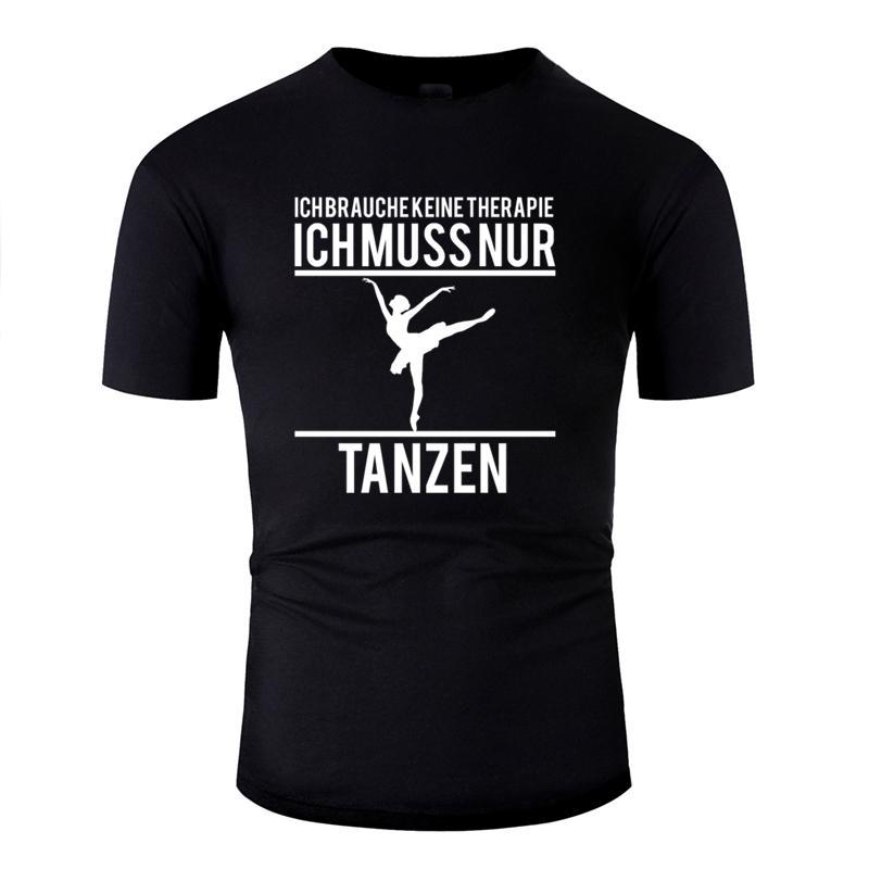 Kişiselleştirilmiş Günlük terapi dans tasarım tshirt 2019 giyim büyük beden S ~ 5XL Aile t gömlek Hipster O Boyun mens