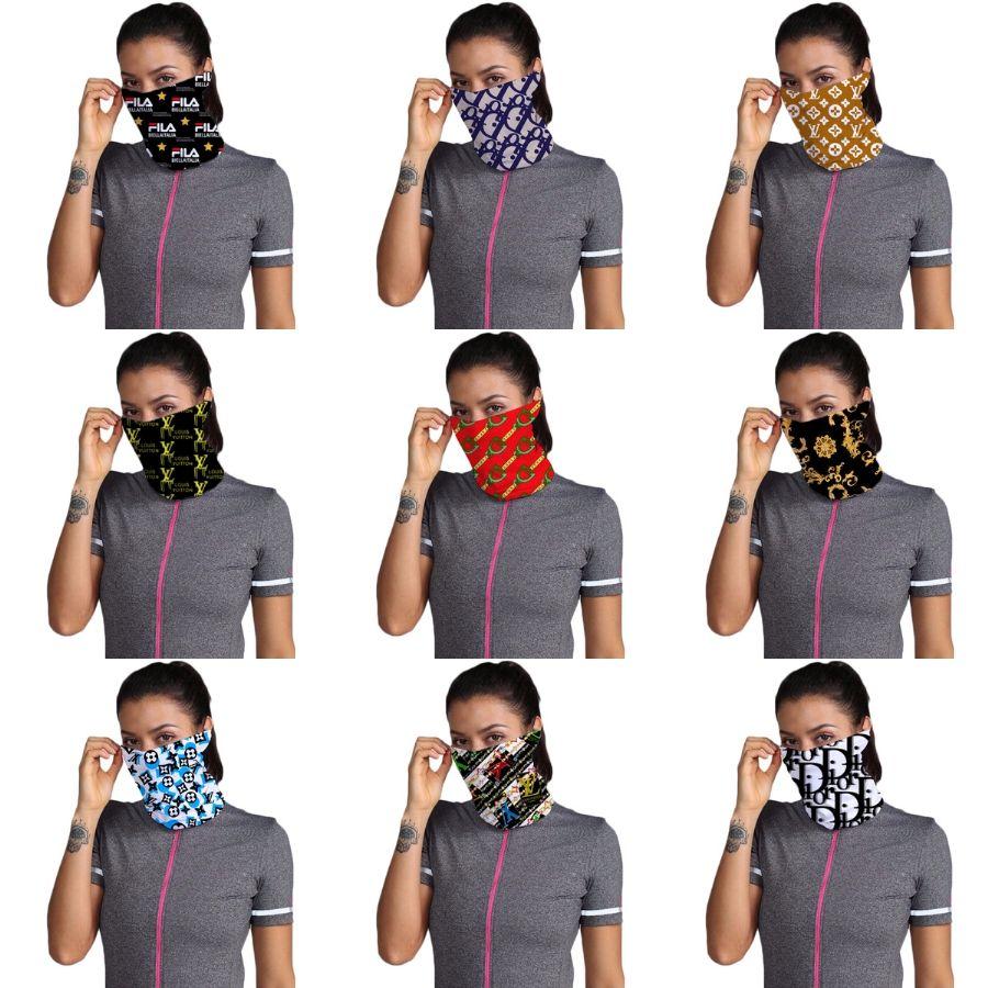 2R0TU Yarım Er Maskeler Eşarp Burun Yüz Bisiklet bandanas Eşarp Tasarımcı Trump Koruyucu Spor Başkanı Eşarplar Yıkanabilir Kafa Yüz Maske # 832 # 992