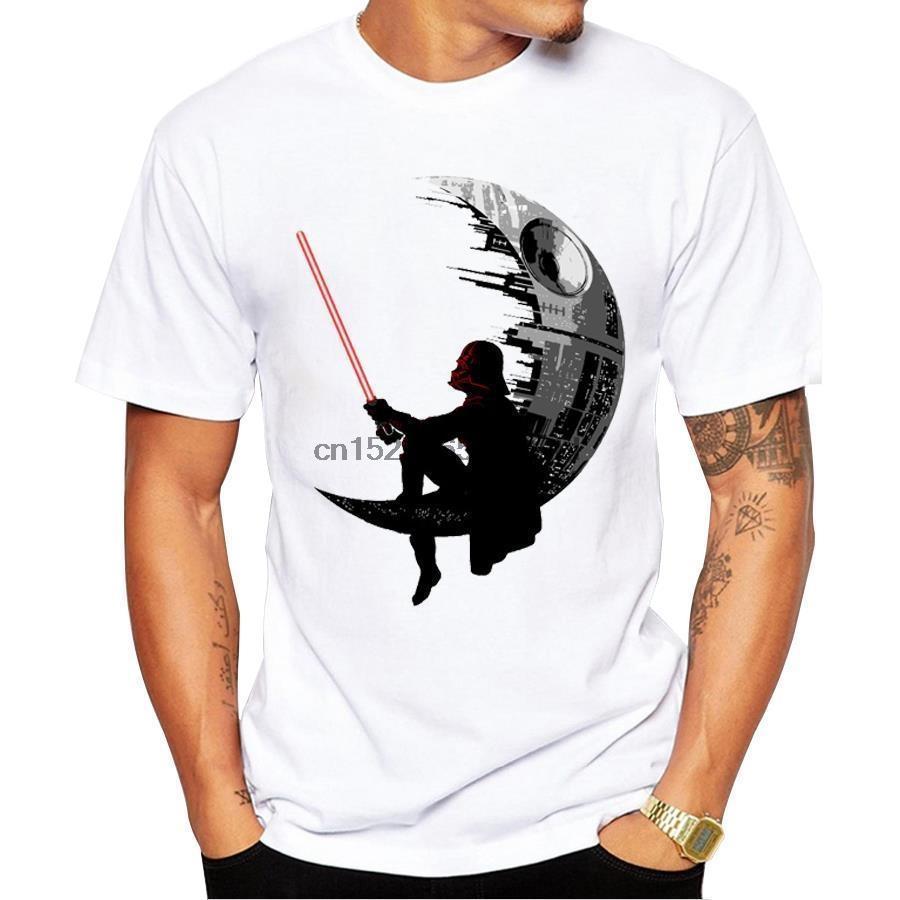 Kısa Kollu Hipster Darth Kral Baskılı T Shirt Erkekler Kısa Kollu T Shirt Tee Yenilikçi Mens Tişörtler Soğuk Tops