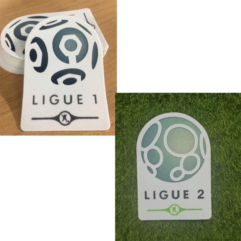 Ligue 1 Patch patch And Ligue 2 Badge de football Badge Heat Transfer Soccer Parches
