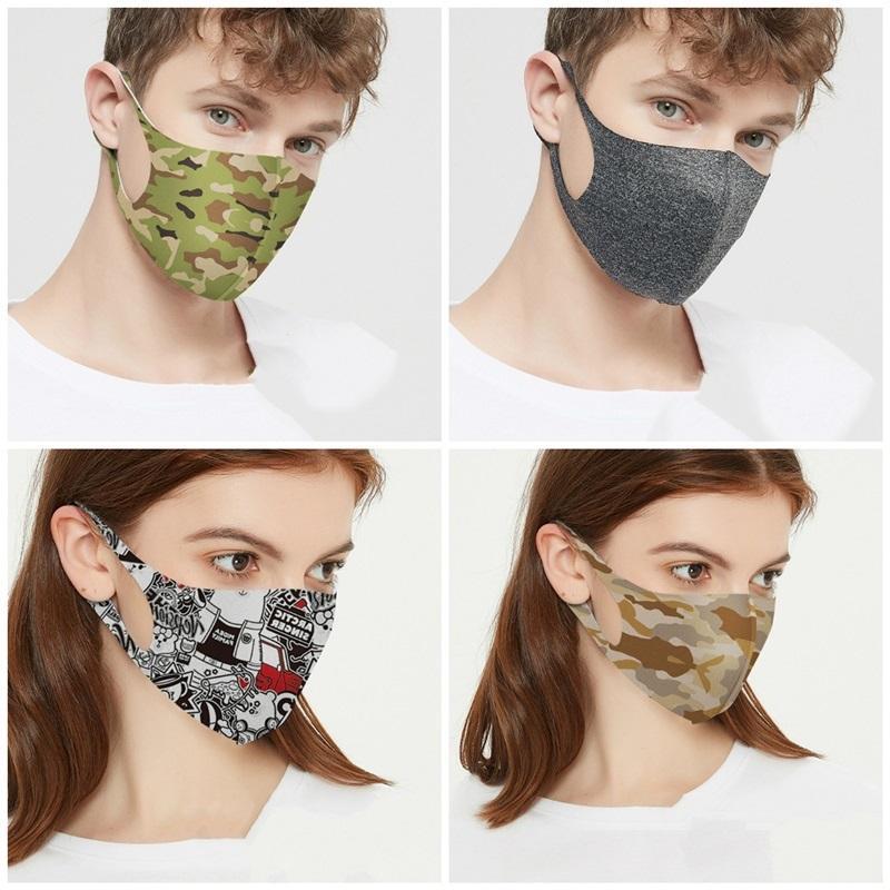 Nuovo antipolvere traspirante maschera di protezione solare Cotone Mask Maschera riutilizzabile lavabile del fronte a uomini e donne BWB374