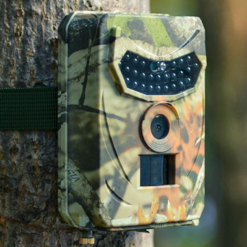 12MP 사냥 카메라 1080P 트레일 스카우트 IR 나이트 비전 야생 동물 캠 기록