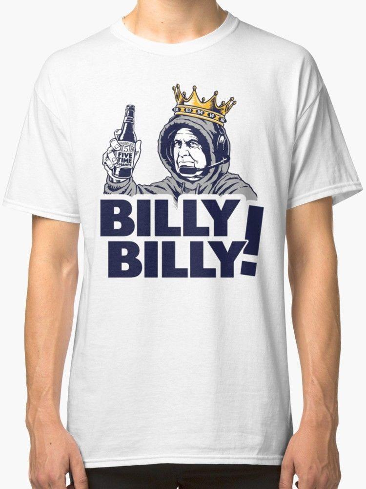Billy Billy - Bud Light - Patriots - Lly Dilly T-shirt d'hommes d'impression blanc de simples Vêtements T-shirt Comic