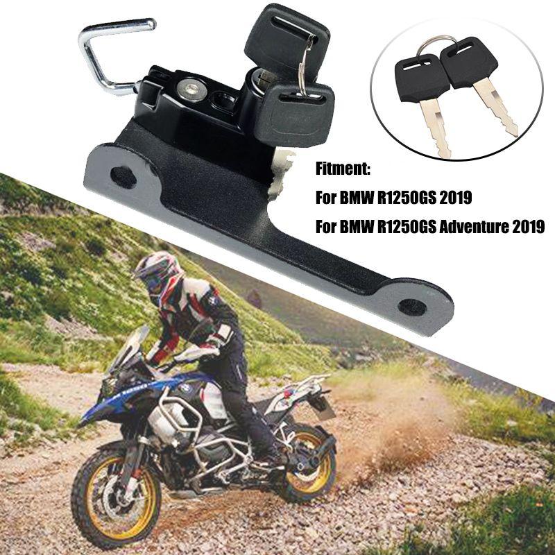6 couleurs Casque de moto Kit de verrouillage en alliage d'aluminium pour R1250GS LC Adventure R 1250 GS LC 2020 GSA R1250HP 2020 Moto