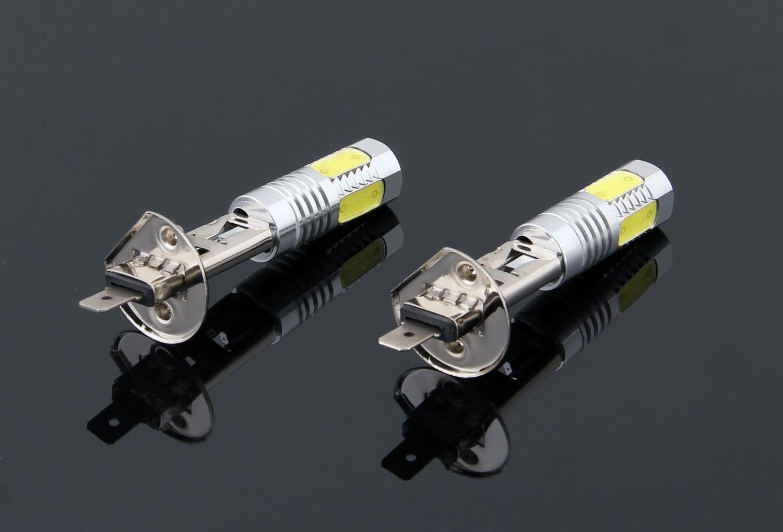 Areyourshop автомобиля 2 х High Power Xenon White LED лампа 7.5W Противотуманные фары дальнего света Лампа накаливания лампы 6500K автомобилей Авто аксессуары Запчасти