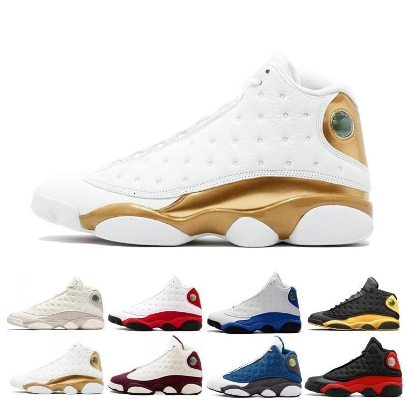 13 13s zapatos de baloncesto del Mens Phantom Chicago Gato Negro raza pura Armada dinero trigo Hyper Dmp Una mala jugada Deportes zapatillas de deporte con nosotros 7-13