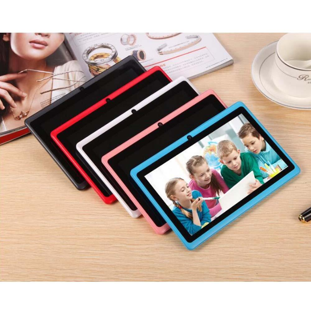 Großhandel Q88 7 Zoll Android 4.4 Tablet mit Tastatur Fall PC Allwinner A33 Quade Core-Dual-Kamera 8GB 512MB Kapazitive Günstige Tablets