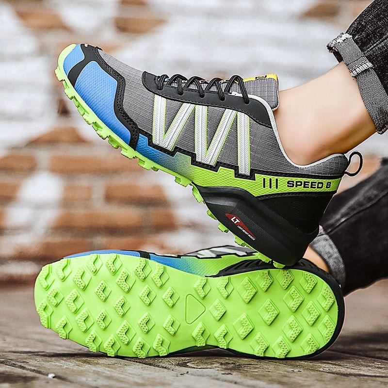 2020 جديد وصول الرجال لعبة غولف أحذية المطاط المضادة أحذية زلة غولف للرجال العلامة التجارية رياضة أحذية رياضية الرجال زائد الحجم تنفس F الرجال