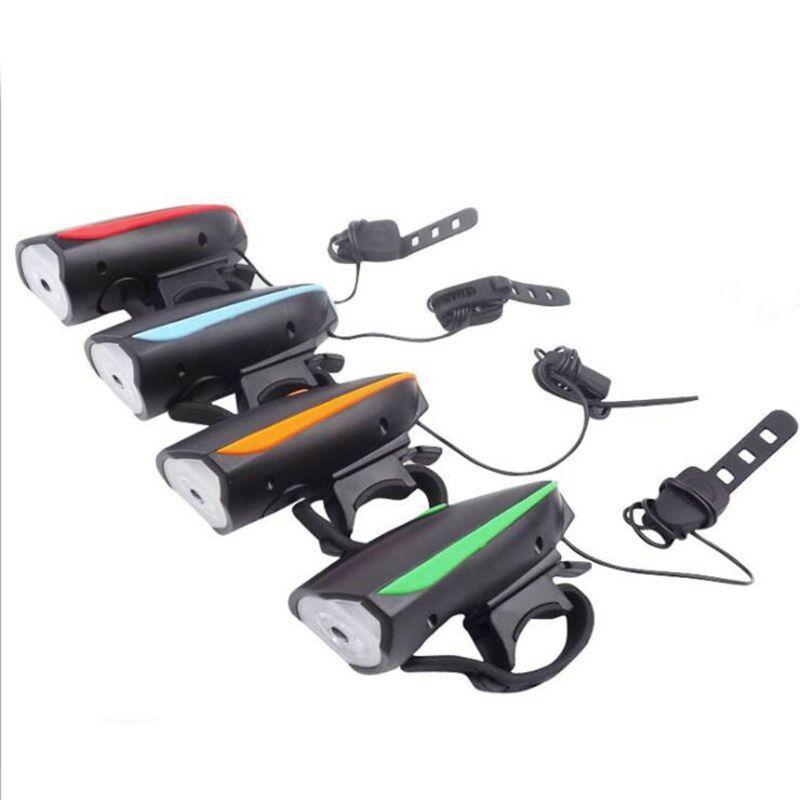 Dağ Bisikleti Farlar Q1FF Şarj Bell USB Bisiklet Kafa Lambası