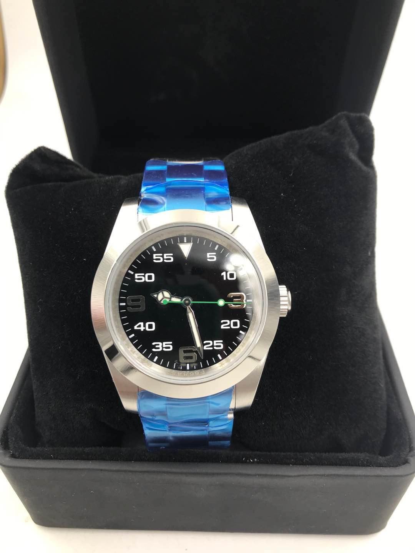 lo sport e il tempo libero degli uomini impermeabile orologio automatico in acciaio inox movimento meccanico 39MM214270 uomini vigilanza di svago moda maschile