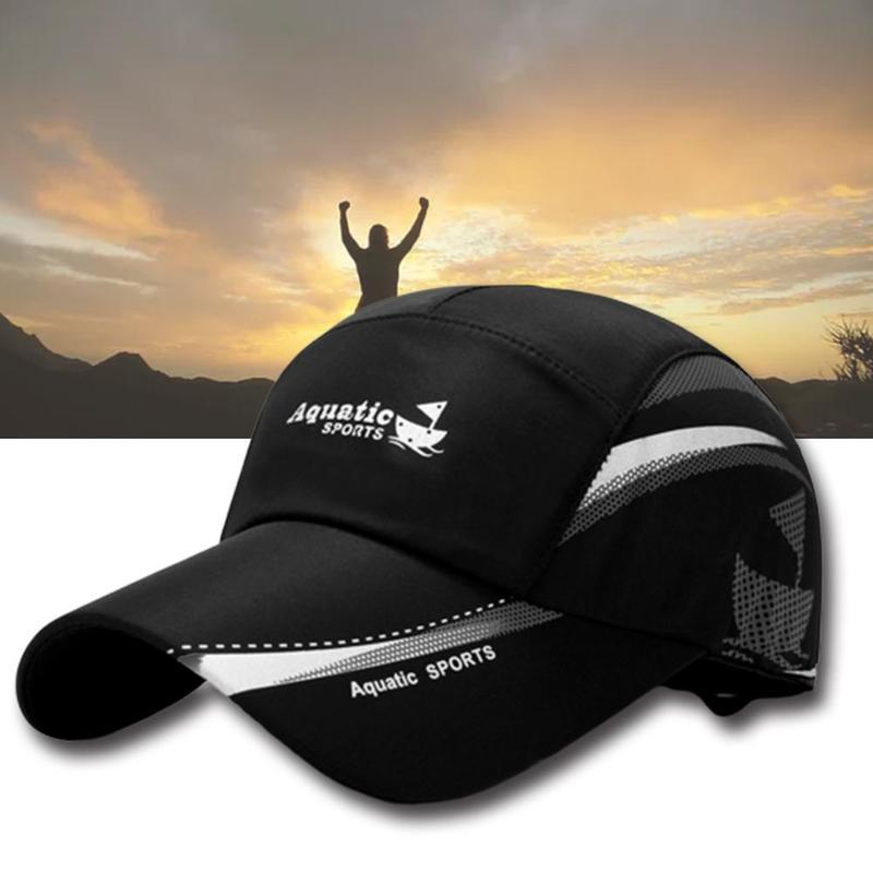 Baseballmütze Wasserdicht Baseballmütze Sommer Outdoor-Sport atmungsaktiv Caps Mode-Freizeit-Hut Einfachen Sonnenschutz Ente Zunge Hut