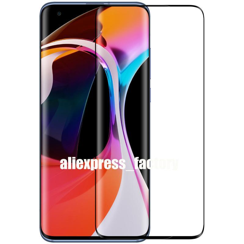 3D zakrzywione szkło hartowane ekran ochraniacze osłony Premium Eksplozja Pełna pokrycie Film Guard dla Xiaomi MI 11 Ultra Uwaga 10 Lite CC9 Pro
