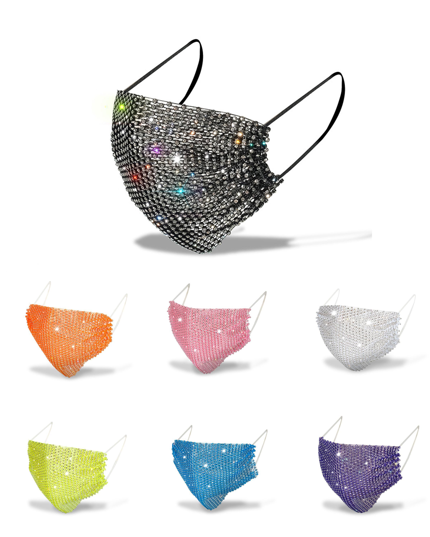 Модный Bling Rhinestone маска Jewlery для украшения Женщины Лица Тела партии MAS Ночного клуба Декоративных Украшений