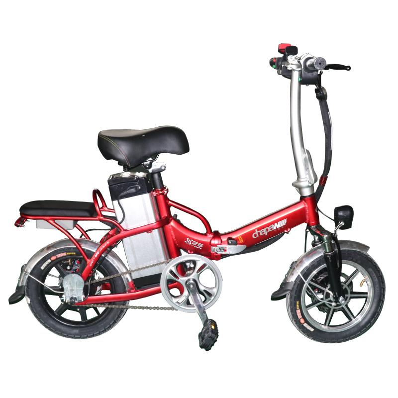"20"" 350W Foldable Electric Bike 36V 12A Electric Motorcycles Two Seat Road E-Bike Mountain Electric Bicycle Hot Selling"