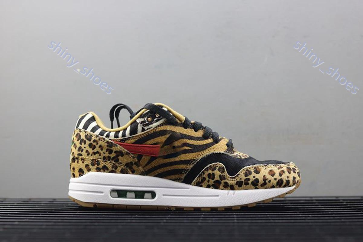 xshfbcl New High Quality Athletic Atmos DLX Animal Pack Casual Shoes Men Women Wheat Green Sport Red Casual Shoes 36-45