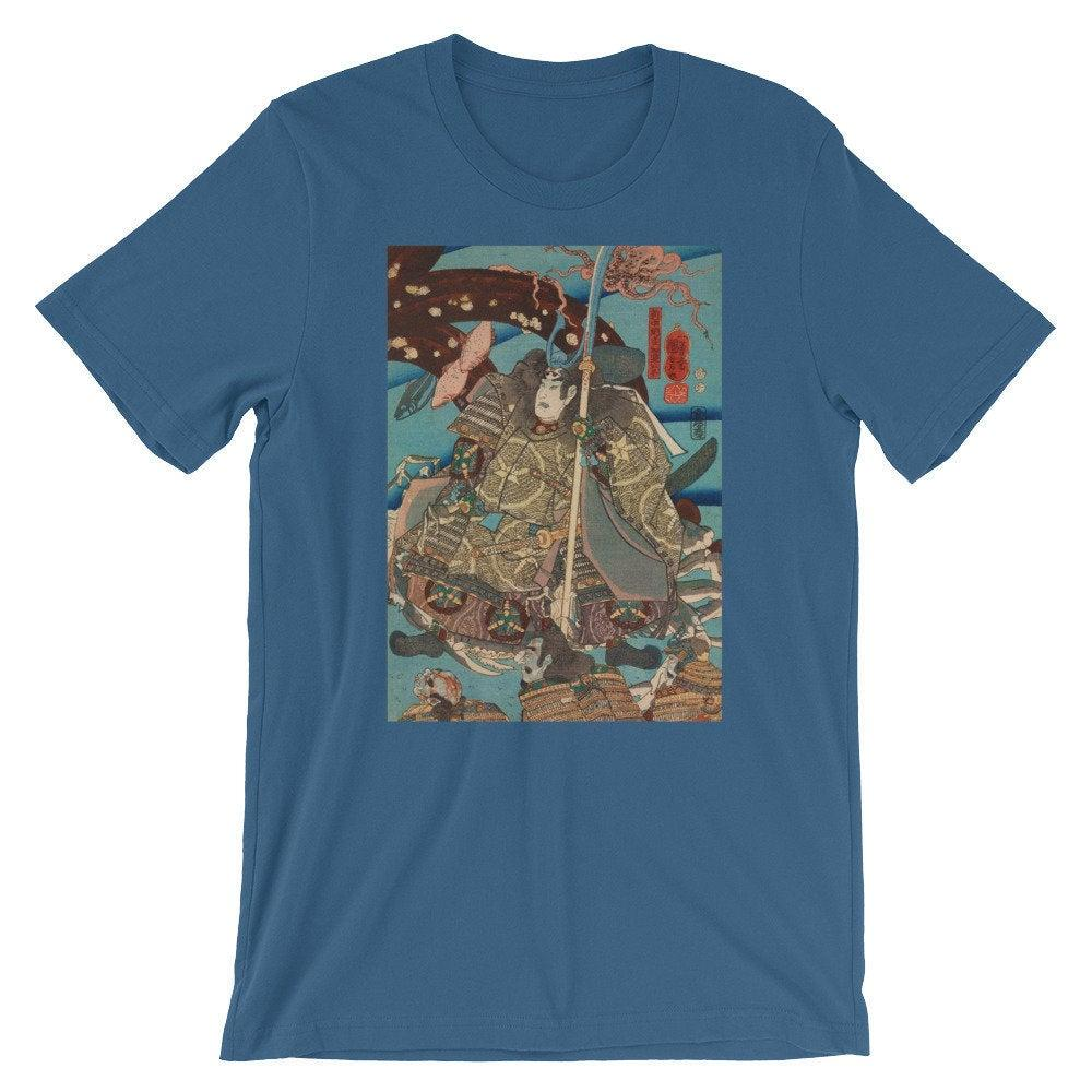 Japanische Ukiyo e Kunstdruck maglietta Utagawa Kuniyoshi # 22