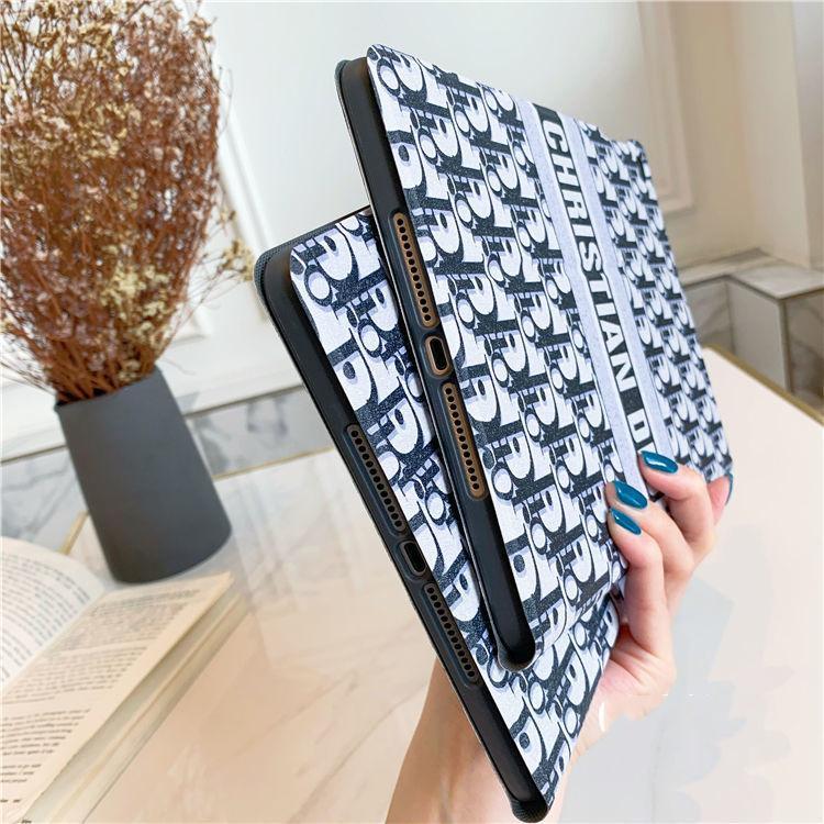디자이너 명품의 Ipad 케이스 Ipad에 미니 1 2 3 빈티지 그리드 케이스 PU 태블릿 커버 Ipad에 에어 10.5 인치 프로 12.9 인치 뒷 표지에 대한